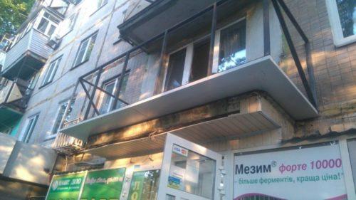 Сварка выноса каркаса по полу в Киеве