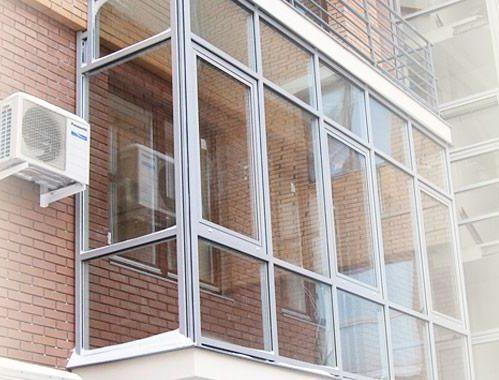 Французский балкон в Киеве1
